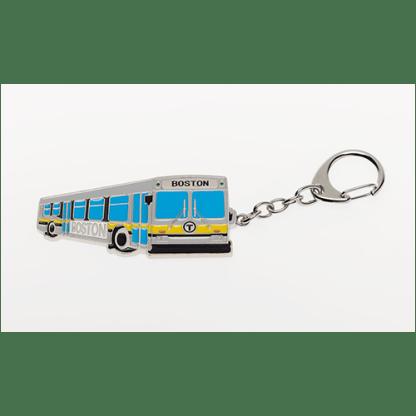 MBTA Bus Vehicle Keychain