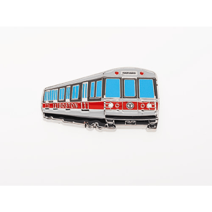 MBTA Red Line Vehicle Magnet