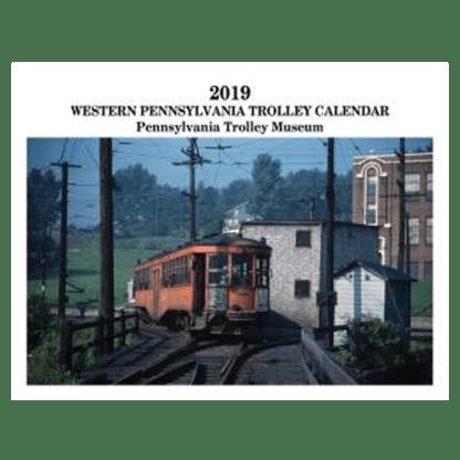 Western Pennsylvania Trolley 2019 Calendar