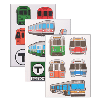 MBTA Sticker Pack