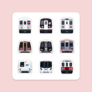 Urban Rail of America Magnet Sheet