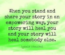 iyanla vanzant share your story