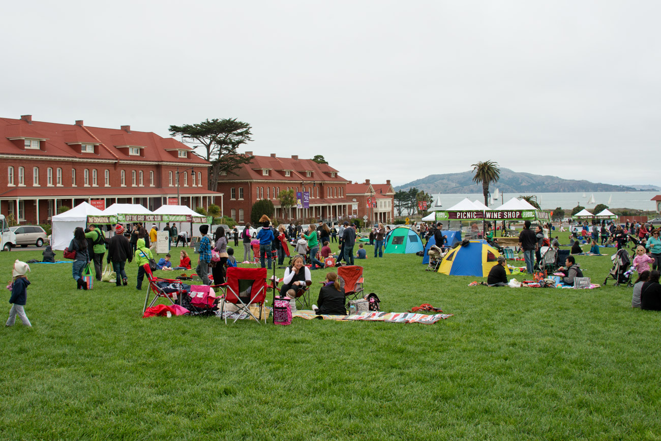 Eat, Drink & Play...Off the Grid: Picnic at the Presidio