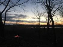 Fen sunset