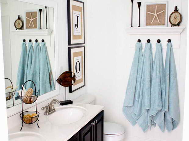 Bathroom Décor Quick Bathroom Decorating On A Budget