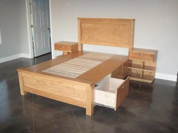DIY Under Bed Storage • The Budget Decorator