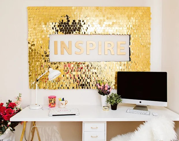 Glamorous Gold DIY Decor Projects • The Budget Decorator