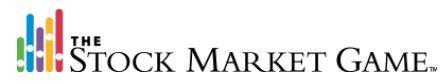 The Stock Market Game Logo