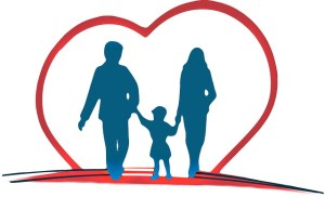 Family within a heart (Insurance Related)
