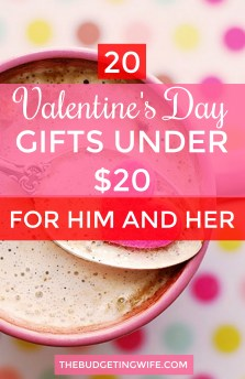20 Valentine S Day Gifts Under 20 For Him And Her The Budgeting Wife