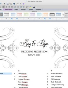 Free printable wedding reception templates the budget savvy bride also table arrangements template ukran poomar rh