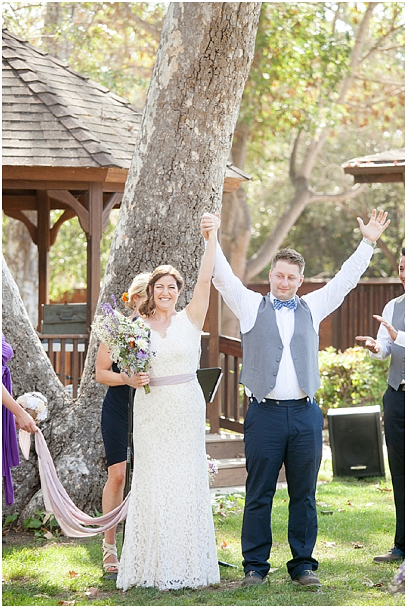Purple Outdoor Wedding  Budget Wedding Blog
