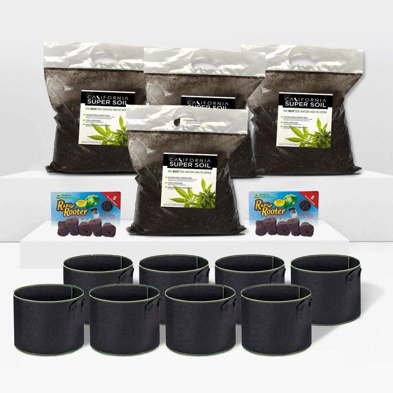 California Super Soil Large Kit