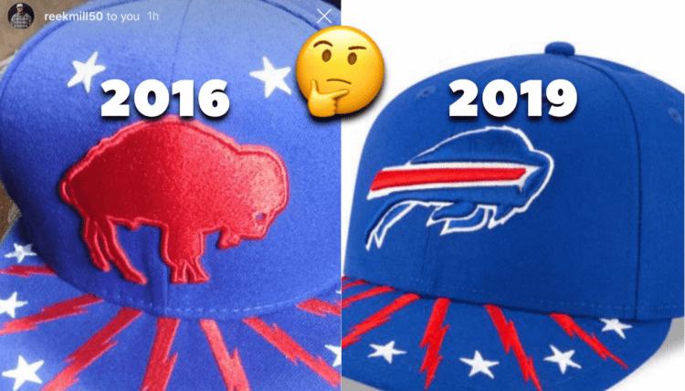 New Era 2019 Buffalo Bills Draft Cap
