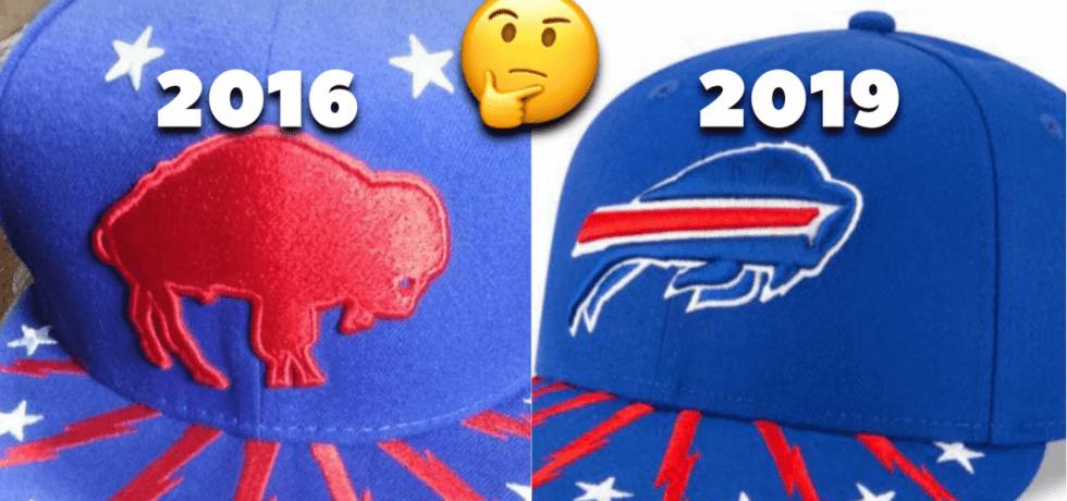 New Era 2019 Buffalo Bills Draft Cap