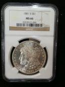 1881-S MS66 $329