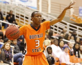 Bradley Doyley, who died Feb. 18 after an unknown illness, played basketball at Buffalo State from 2012-2015. (Photo courtesy of Dave DeLuca, The Record)