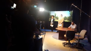 Students at SUNY Buffalo State taped the first episode of 'The Buffalo Review TV' on Feb. 9.