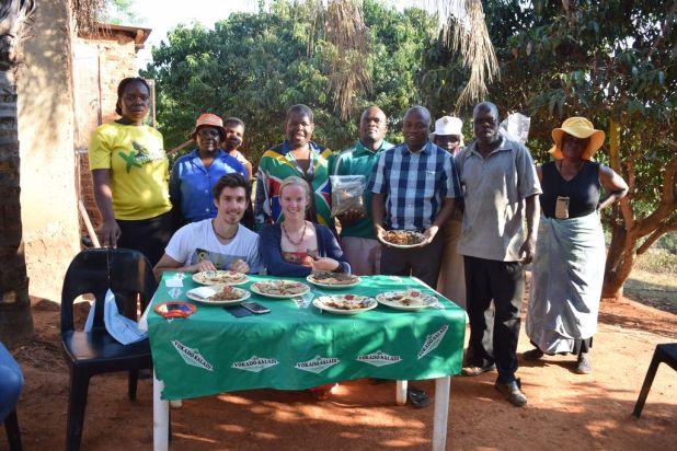 projet napra, barres protéinées aux insectes en afrique du sud par the bug trotters