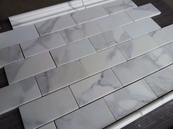 Home Depot Marble Subway Tile