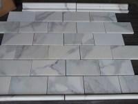 calacatta 36 subway tile marble | the builder depot blog