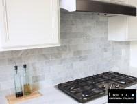 Carrara Bianco 36 Kitchen Backsplash | the builder depot ...