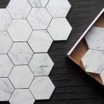 Carrara Bianco 5 Hexagon Marble Mosaic Tile The Builder Depot Blog