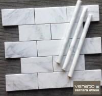 White Marble Subway Tile
