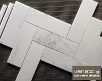 Carrara Venato 412 Subway Tile for Flooring | the ...