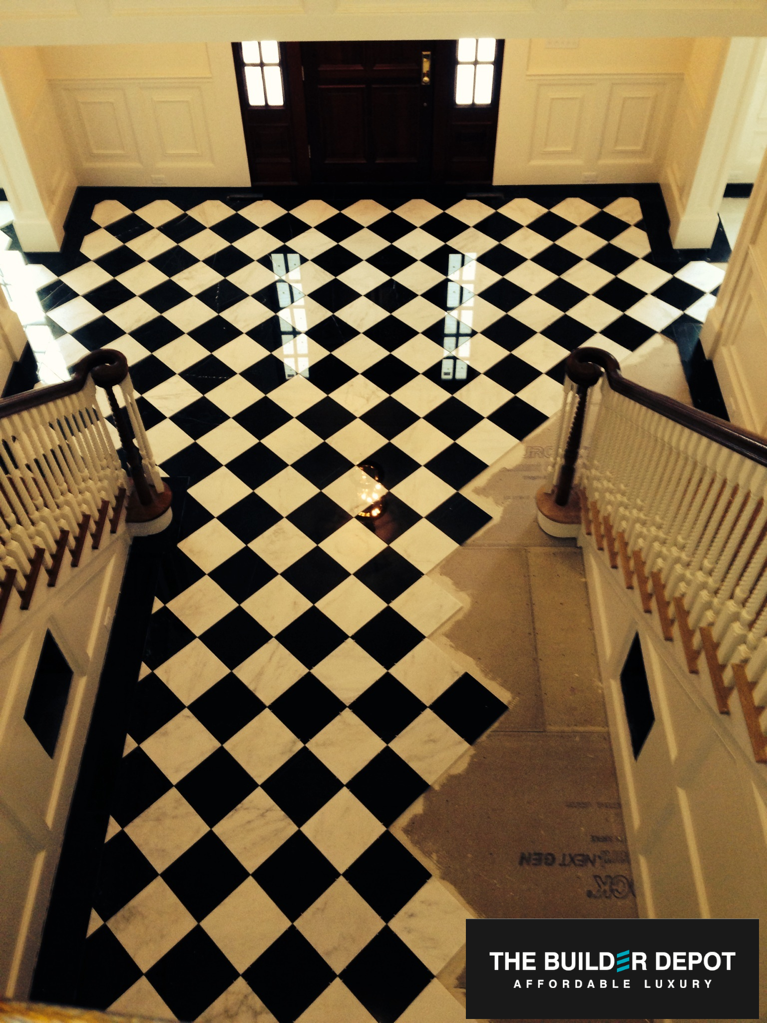 harlequin black and white marble  the builder depot blog