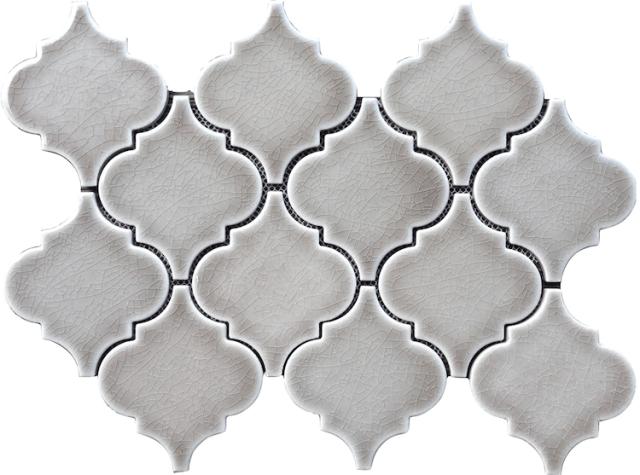 highland park dove gray mosaic tile