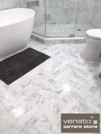 1x1 Marble Tile Bathroom - The Unveiling With 12x12 Marble ...