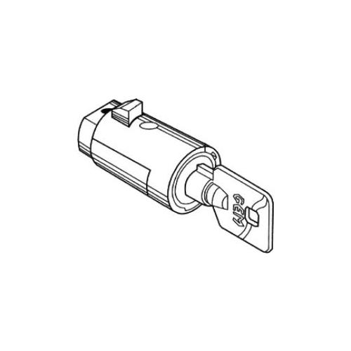 Compx Security Products YPT1010-KA79 POP OUT T HANDLE