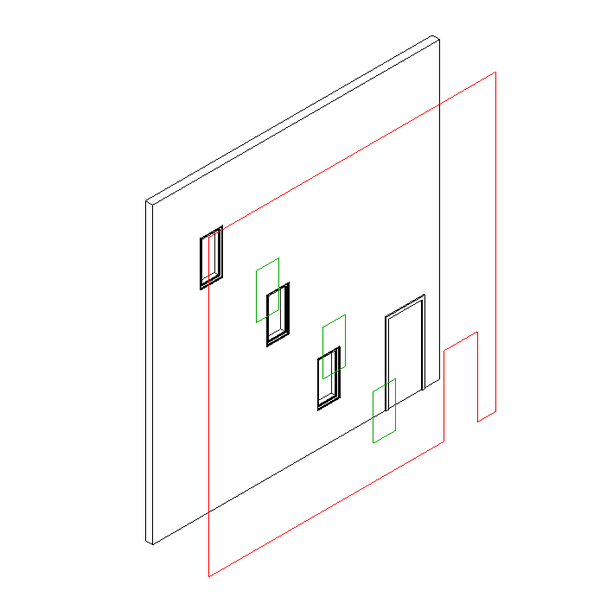The Building Coder: Getting the Wall Elevation Profile