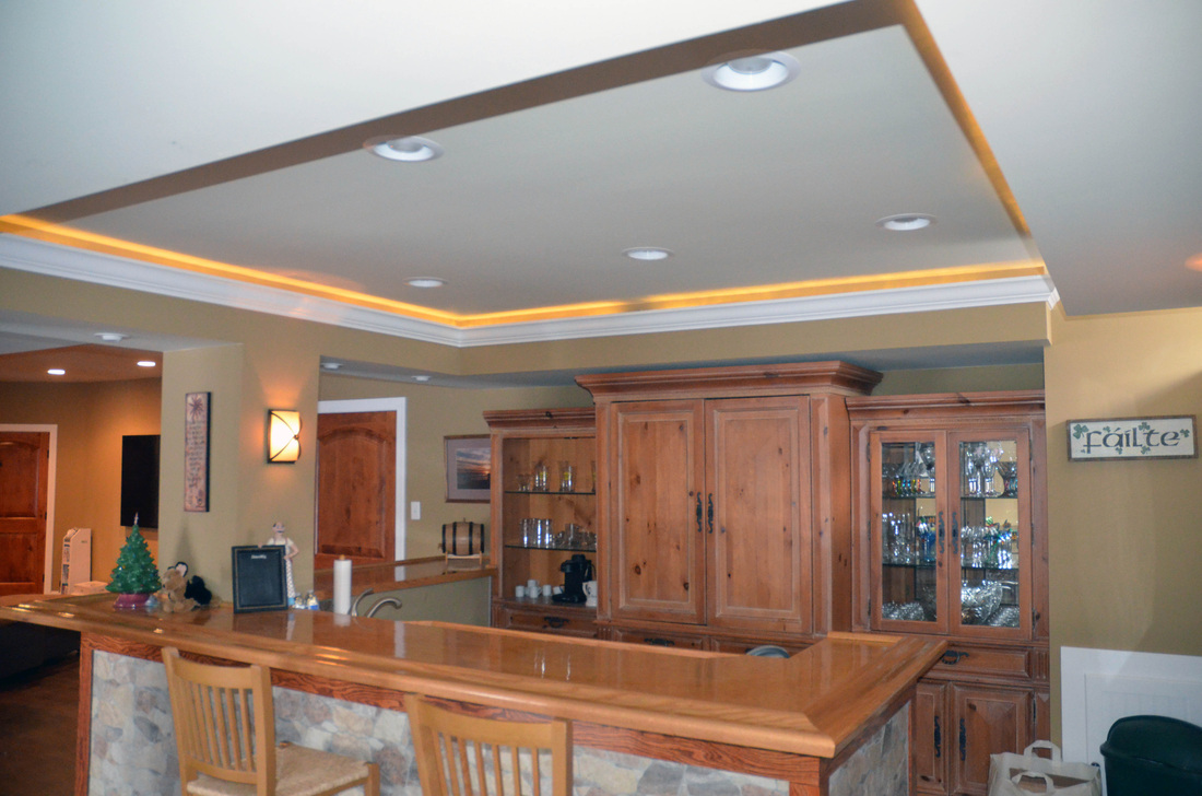 Nice How To Build A Tray Ceiling With Lights Pranksenders