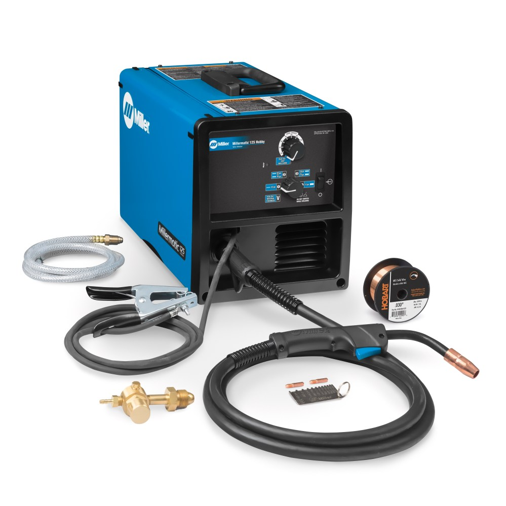 medium resolution of miller welding equipment millermatic 125 hobby mig welder 907692