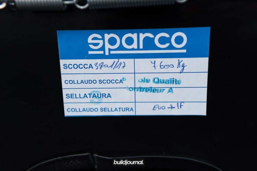 Sparco EVO vs Trophy-S Bucket Seat