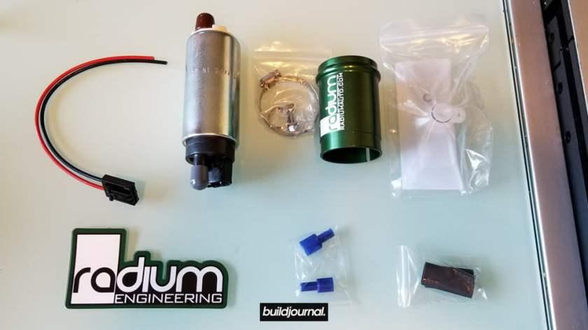 E46 M3 Fuel Pump DIY - Radium Walbro Kit