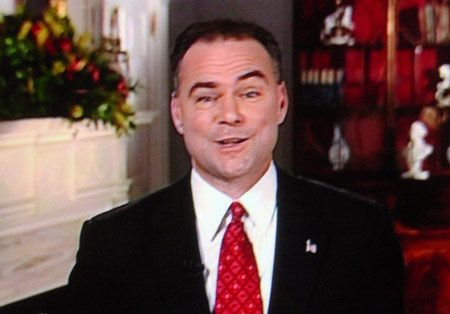 Kaine ripped off the mask of moderation and ran as a liberal.