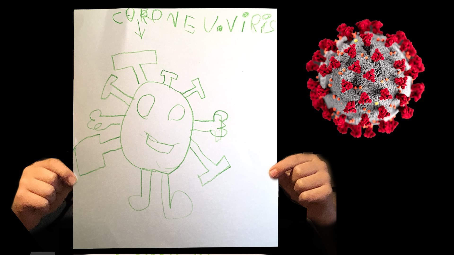 Kids Are Drawing Pictures Of The New Coronavirus That S A Good Thing Bulletin Of The Atomic Scientists