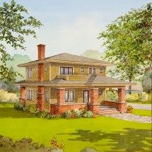 Small Bungalow House Plans with Porches