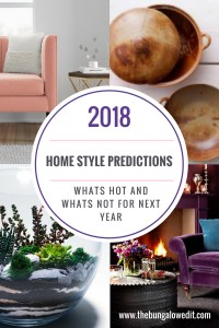 home style predictions 2018