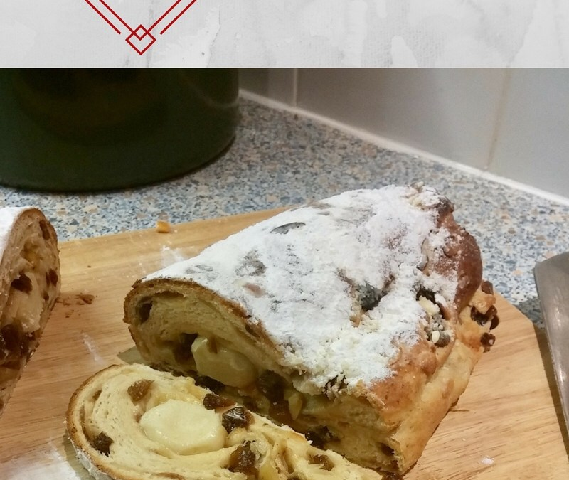 Make your own Christmas Stollen