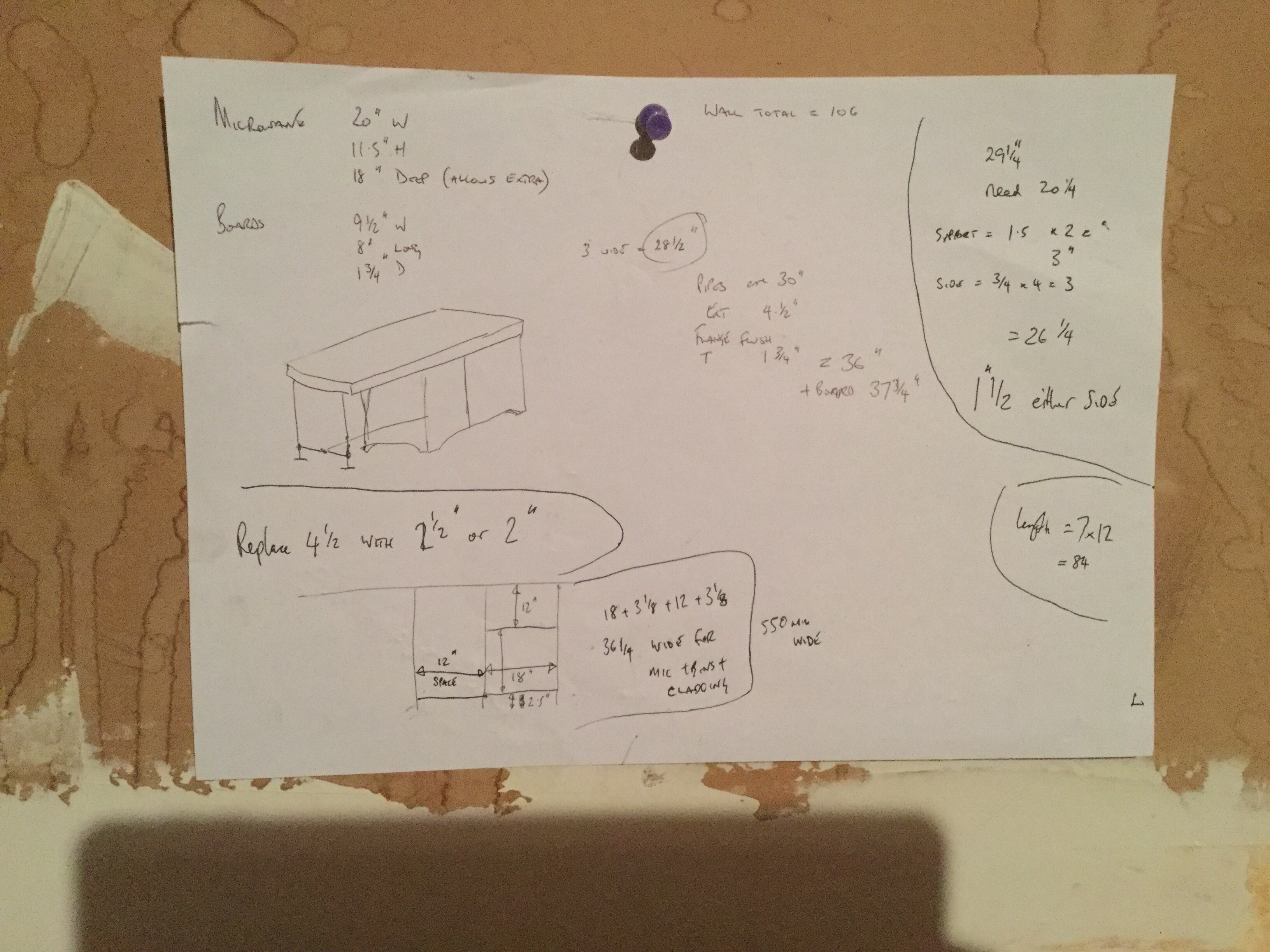 Kitchen unit plans