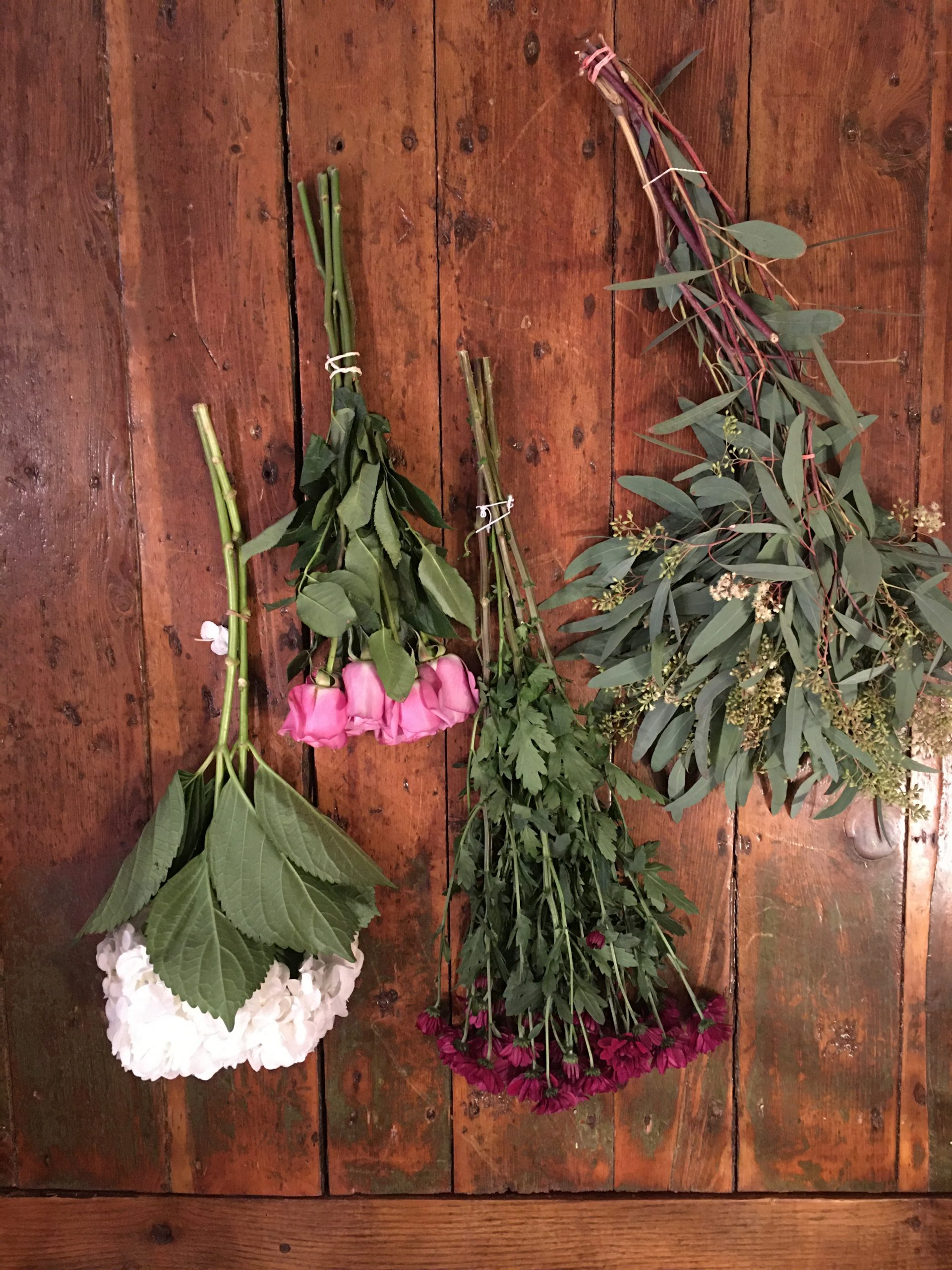 Selecting flowers to arrange - The Bungalow edit