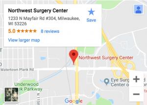 Northwest-Surgery-Center-Wisconsin-Google-Map-1