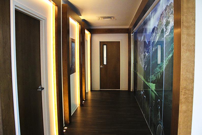 Hallway at Northwest Surgery Center