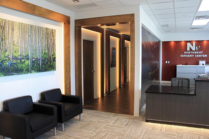 Northwest Surgery Center Littleton, CO Waiting Room