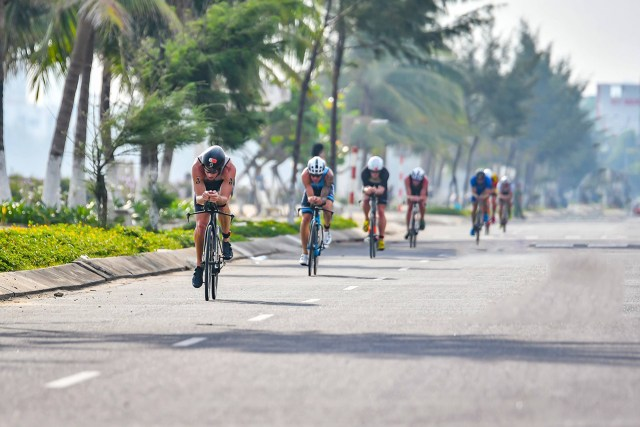 Ironman 70.3 Danang Cycling