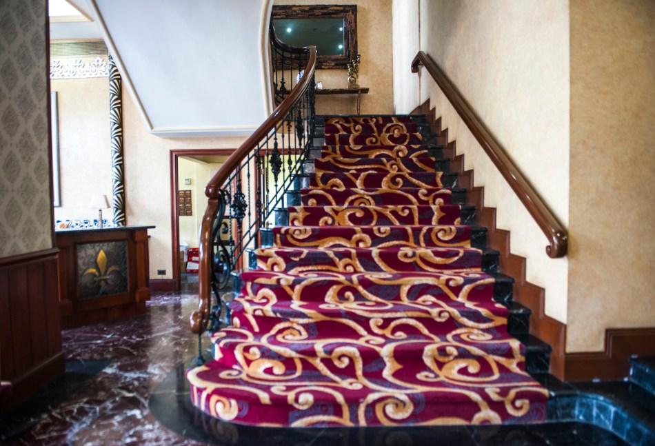 Luneta Hotel Lobby Staircase